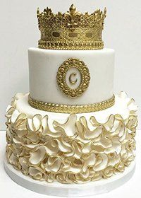 Wonderful Picture of Golden Birthday Cake . Golden Birthday Cake Birthday Cake For A Princess Cakescake Popsmini Cakes In 2018 Golden Birthday Cakes, Custom Birthday Cakes, Cupcake Birthday Cake, Gold Birthday, Birthday Cake Girls, Cupcake Cakes, 17th Birthday Cakes, Birthday Ideas, Birthday Cake Crown