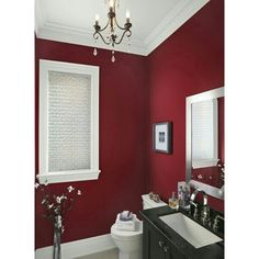 22 Ideas To Use Marsala For Bathroom Décor DigsDigs ❤ liked on Polyvore featuring backgrounds and photos