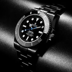 Bamford Watch Department 2012 Rolex Submariner Non-Date     Very nice. Love the blacked out look and the sky blue second hand