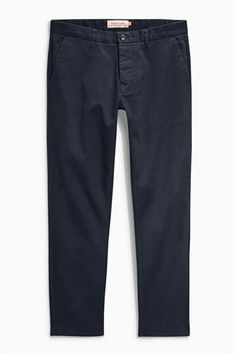 Buy Dark Blue Stretch Chinos from the Next UK online shop