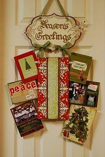 Cricut - Christmas card holder