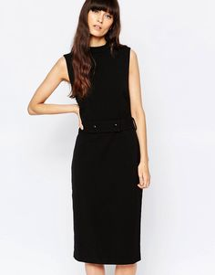 Cool Selected Likka Pencil Dress - Black Selected Pencil Kjoler til Damer til hverdag og fest