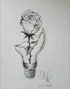 Girl Drawing Sketches, Art Drawings Sketches Simple, Beautiful Drawings, Cute Drawings, Dark Art Drawings, Pencil Art Drawings, Meaningful Drawings, Arte Sketchbook, Painting & Drawing