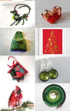 Christmas Collection by Marlena Rakoczy on Etsy--Pinned with TreasuryPin.com