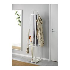 Spray paint glittery silver or gold and hang Christmas stockings? ENUDDEN Hat and coat stand  - IKEA