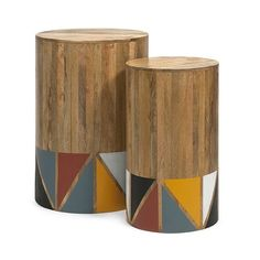 Bring Nature Back Into Your Modern Decor With This Set Of Mango Side  Tables. These. FURNITURE U0026 DECORMango Wood ...
