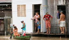 Rede Diário lança campanha para ajudar famílias afetadas pela cheia do Rio Negro.