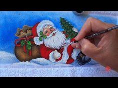 Papai Noel com Renas em Tecido (Aula 100/ Parte 1) - YouTube