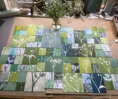 """Jennifer Douglas on Instagram: """"Homage to Cow Parsley It decorates the hedgerows and gardens in this month of May here in Somerset, I'm a huge fan! Using the gelplate to…"""" Cow Parsley, Gelli Plate Printing, Somerset, Gardens, Fan, Prints, Instagram, Home Decor, Decoration Home"""