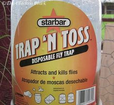 Fly traps. Each type of physical fly trap has its drawbacks: some are stinky, nasty to look at and some are costly, but most are effective to varying degrees.