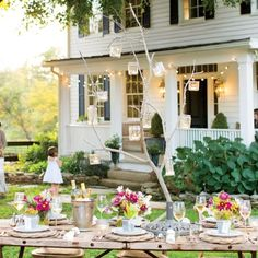 Summer Party Inspiration: Farmhouse Dinner Party