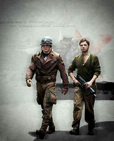 Steve and Bucky - Brothers in Arms