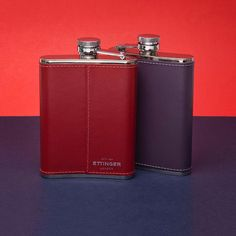 One for the damnson, the other for the sloe • #toeachtheirown #ettinger #ettingerlondon #britishmade #flasks #hipflasks #crafstmanship #stainlesssteel #Repin by https://www.kensington-bespoke.uk - Bringing the #chic and #style of #Kensington High Street direct to your home.