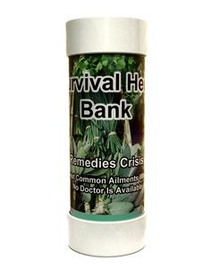 Survival Herb Bank