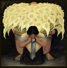 Buy online, view images and see past prices for Diego Rivera, The Flower Vendor, antique, lilies Diego Rivera Frida Kahlo, Mexican Artists, Wall Art Prints, Lino Prints, Block Prints, Art Auction, Famous Artists, Encaustic Painting, Urban Art