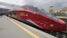 Italo (guess where it is from...) with a speed of 360 km/h