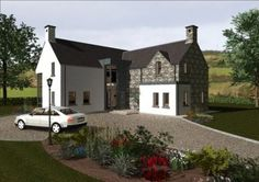House exterior ireland modern new ideas House exterior ireland modern new ideas House Plans Online, Best House Plans, Dream House Plans, L Shaped House Plans, House Designs Ireland, Online Home Design, Rural House, Home Buying Process, Stone Houses