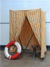 Industrial wedding ideas: Elemental antique vintage retro furniture lighting seating