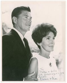 Ronald and Nancy Reagan, 1968 Nancy Reagan, President Ronald Reagan, Event Photos, Us Presidents, Picture Photo, Behind The Scenes, Hollywood, Pictures, Image