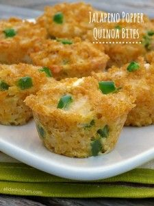 Jalapeno Popper Quinoa Bites Recipe