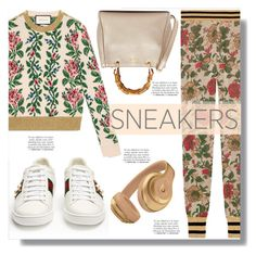 """Sneaker"" by drigomes ❤ liked on Polyvore featuring Gucci and Franke"