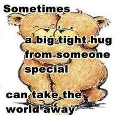 hug you tight!