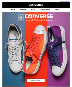 Converse #Newsletter #Email