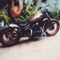 Virago 250 Custom do Jardel