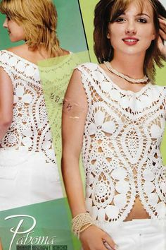 Bruges LACE Doily Dress crochet patterns por RussianCrochetBooks