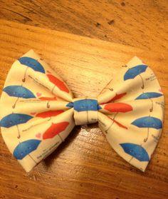 Disney Pixar Short The Blue Umbrella Hair Bow by MimiMouseBowtique, $8.00