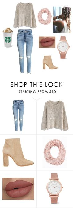 """""""Fall trendsetter!"""" by ayannaflow on Polyvore featuring Chicwish, Gianvito Rossi, Charlotte Russe and Larsson & Jennings"""