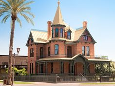 LATE VICTORIAN Rosson House (1882), view #2, 113 North 6th Street, Phoenix, Arizona | Flickr - Photo Sharing!