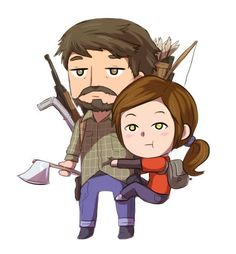 such an amazing game +_+ The last of us Last Of Us, Game Character, Character Design, The Lest Of Us, Joel And Ellie, Fanart, Video Game Reviews, The Evil Within, Chica Anime Manga