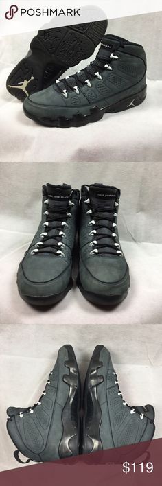 Jordan Anthracite 9s Jordan Anthracite 9s 9/10 condtion comes with replacement box Jordan Shoes Sneakers