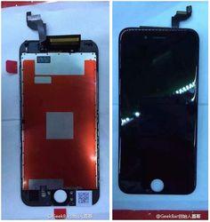 #애플 #아이폰6s 의 것으로 보이는 조립된 디스플레이 사진 등이 여러장 유출되었습니다. 전작 대비 몇가지 변화를 찾아볼 수 있다고 하는군요.