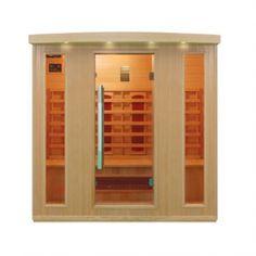 Infrarotkabine Kopenhagen Größe 175 x 120 x 190cm Portable Sauna, Traditional Saunas, Steam Sauna, Sauna Room, Infrared Sauna, Bathroom Medicine Cabinet, Locker Storage, Furniture, Home Decor