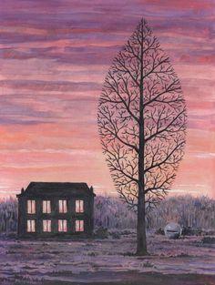 René Magritte - La recherche de l'absolu, 1963