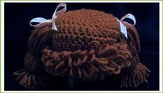 Cabbage Patch Hat for Halloween!