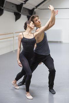 "Paris Opera Ballet Hannah O'Neill and Hugo Marchand rehearsing ""Musique et Danse"" Dance Photography Poses, Dance Poses, Shall We Dance, Just Dance, Street Dance, Carpeaux, Mikhail Baryshnikov, Nureyev, Dance Movement"