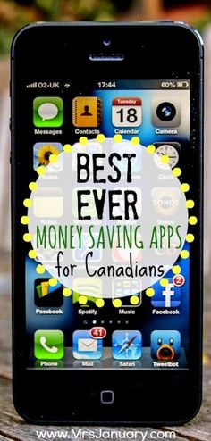 Best Ever Money Saving Apps for Canadians - Here are my favourite Canadian money apps.The Best Ever Money Saving Apps for Canadians - Here are my favourite Canadian money apps. Ways To Save Money, Money Tips, Money Saving Tips, Cash Money, Money Worksheets, Savings Plan, Budgeting Money, Frugal Tips, Financial Tips