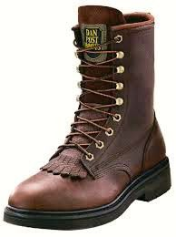 Dan Post Men's Rigger Briar Oily Leather Lace Up Work Boots DP69612