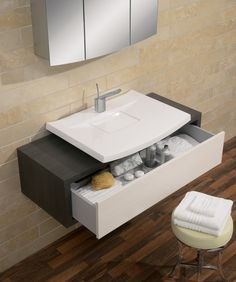 Touch Steel Bathroom Range from Crosswater http://www.bauhaus-bathrooms.co.uk/category/bauhaus-furniture-touch-steel/