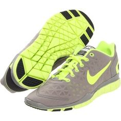 Nike - Free TR Fit 2 (Light Charcoal/Anthracite/Volt) - Footwear   www.grabevery.com