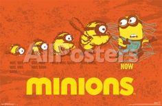 Minions - Evolution Movies Poster - 86 x 56 cm