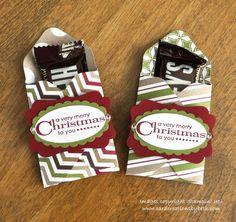 Envelope Punch Board Treat Holders envelope punch board boxes, gift, craft, envelopes, stampin up treat holders, paper, envelop punch, 3x3 christmas cards, stampin up christmas
