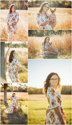 Hanna is such a beautiful young woman. I was thrilled to do her senior  photos. Hanna and her mom met me at the Manassas Battlefields on a super  windy day. We worked with it and with Hanna's awesome outfits, it was  perfect. Even though we had a lot of wind, we had some gorgeous light!
