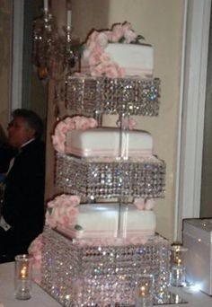 Bling bling cake!