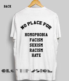 Quote On T Shirt No Place For Unisex Premium Shirt Design //Price: $13.50 //     #mensfashion