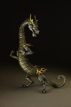 TK Project KT 001  Takeya Style Modern Jizai Okimono action Figure dragon