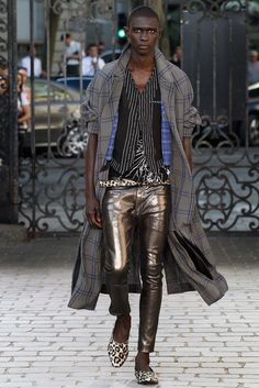 Haider Ackermann Spring 2016 Menswear Fashion Show - Fernando Cabral